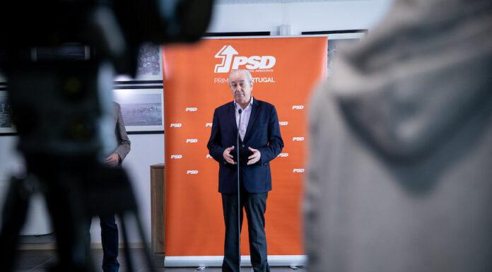Rui Rio, líder do Partido Social Democrata (PSD)
