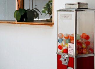 Máquina de venda automática de brindes