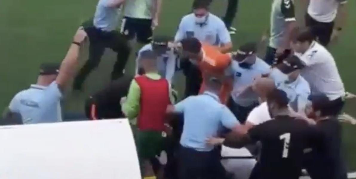 Agentes disparam para o ar no jogo entre o Olímpico do Montijo e o Vitória de Setúbal B