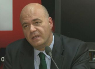 O dirigente do PSD Paulo Mota Pinto