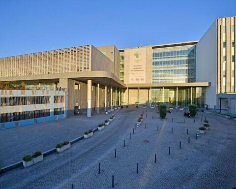 Edifício do Hospital de Braga