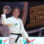 A judoca Bárbara Timo