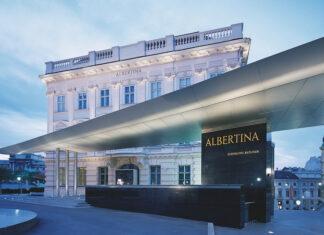 Albertina Museum, em Viena, na Áustria