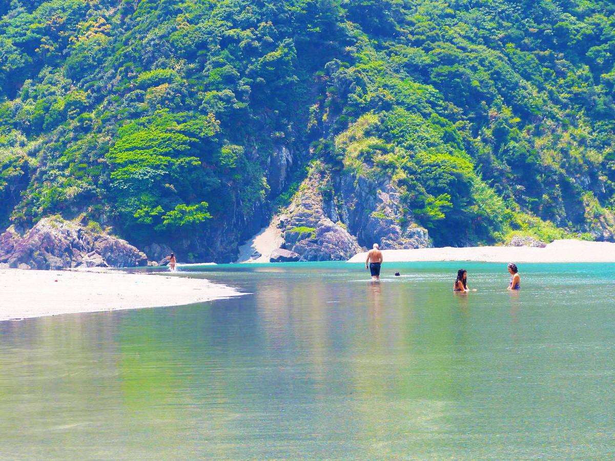 A praia de Katoku, no Japão.