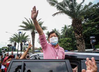 O candidato às eleições presidenciais das Filipinas Ferdinand Marcos Jr.