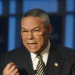 O ex-secretário de Estado norte-americano Colin Powell