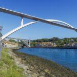 Proposta Coba Consultores para nova ponte sobre o Douro