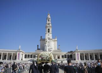 Peregrinação de outubro no Santuário de Fátima