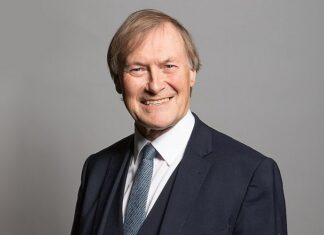 O deputado britânico David Amess